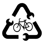 bike recycling logo