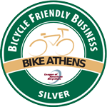 BikeAthens - Bicycle Friendly Business Silver