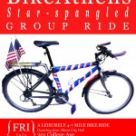 July Group Ride Poster