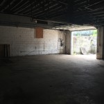 We will use the larger space for the shop / meetings and office